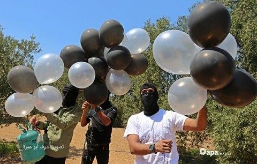 بالونات العيد والبالونات الحارقة