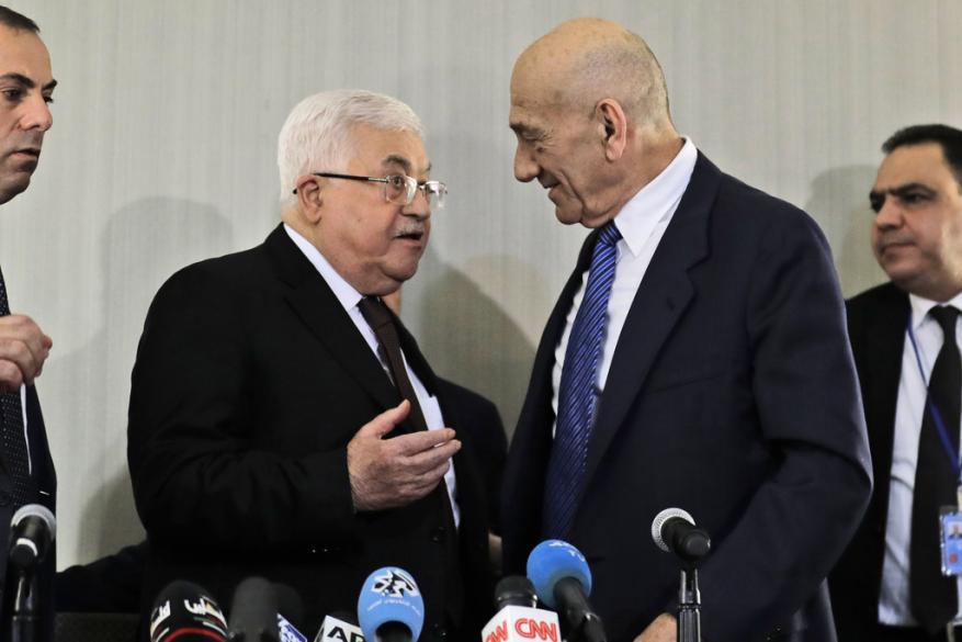 نتنياهو: اجتماع عباس أولمرت محطة انحطاط تاريخية