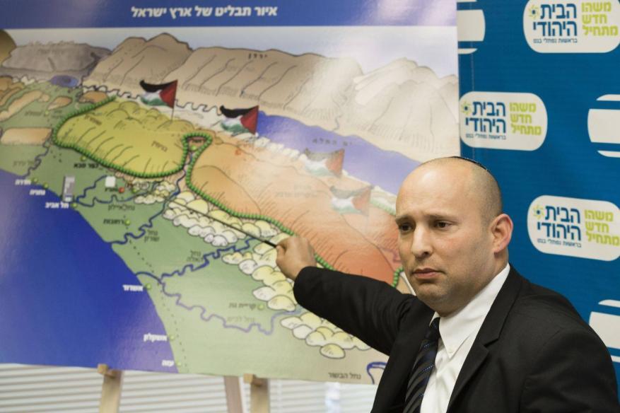 """""""نفتالي بينيت"""" يعلن اعتبار 7 مناطق بالضفة كمحميات طبيعية تابعة للمستوطنين"""