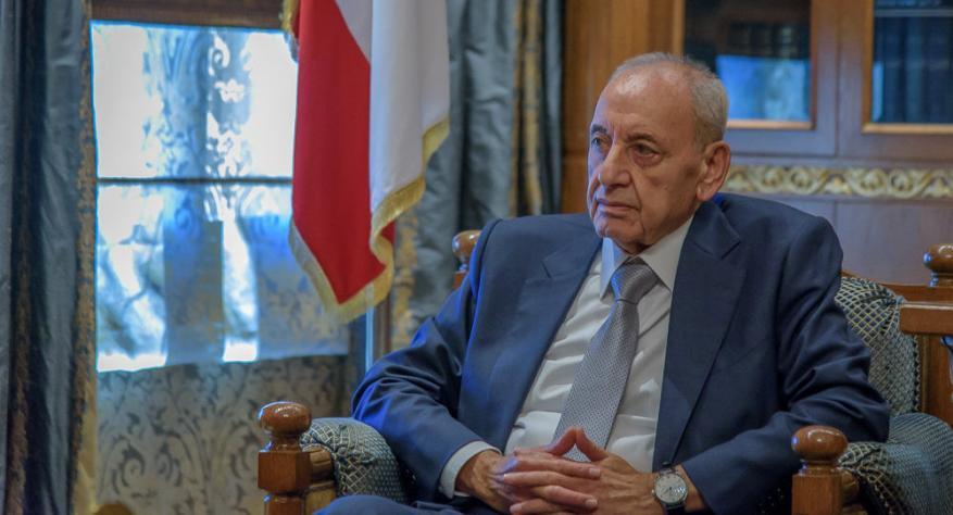 """نبيه بري: تحرك """"إٍسرائيل"""" يهدد باستنزاف ثروة لبنان النفطية"""