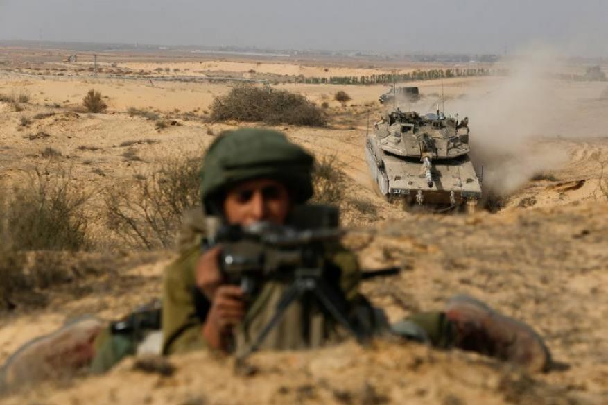 جيش الاحتلال يجري مناورة عسكرية في الجليل الأعلى والغربي
