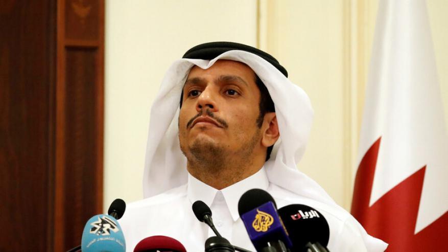 """قطر: نرفض تعدي """"إسرائيل"""" على الشعب الفلسطيني ولا سلام في المنطقة دون حل قضيته"""