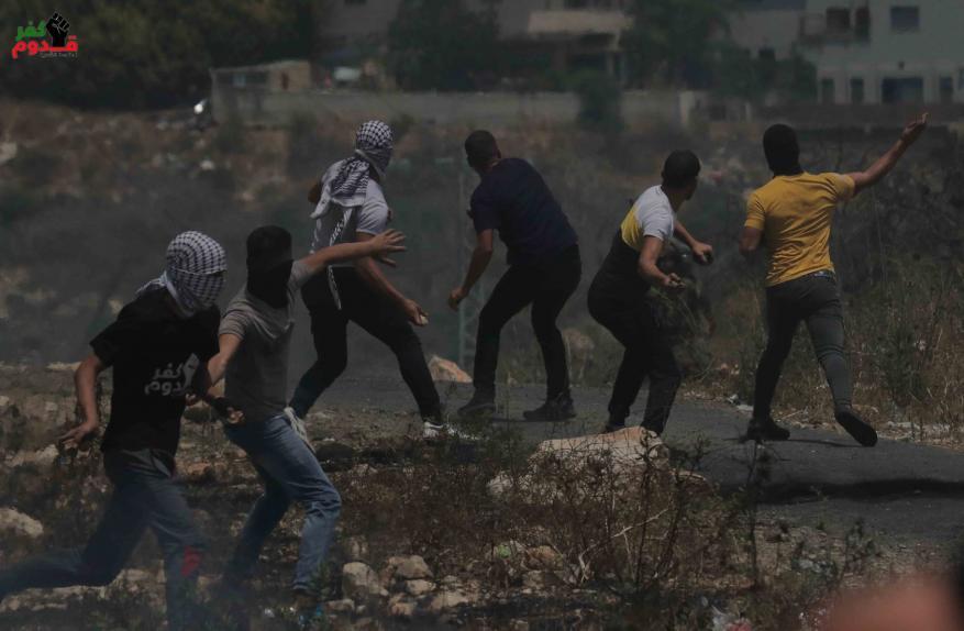 إصابة العشرات بالاختناق جراء قمع الاحتلال مسيرة كفر قدوم