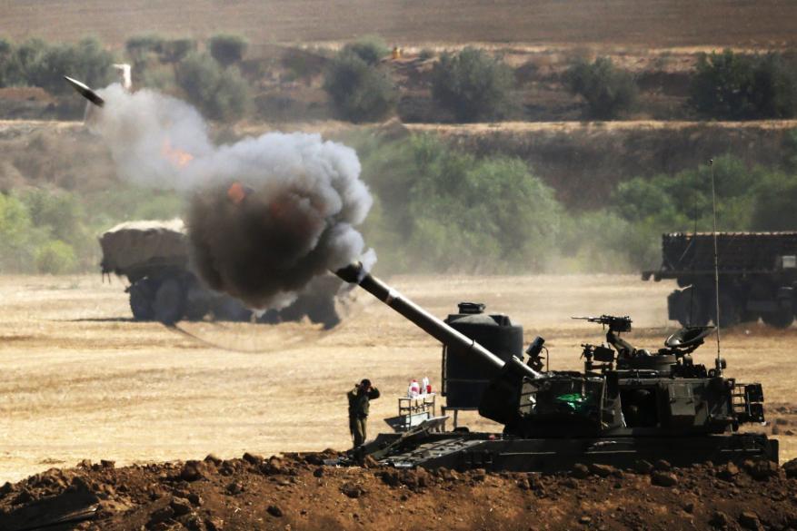 قصف مدفعي في مناطق شرقي قطاع غزة