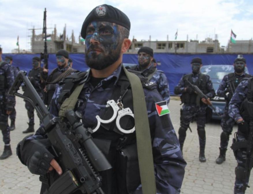 """""""حماس"""" تشيد بأجهزة الأمن في غزة لكشفها """"خلية"""" تخريبية للاحتلال"""