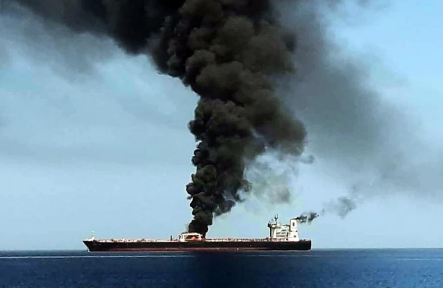 ارتفاع أسعار النفط عقب حادثة ناقلتي بحر عمان