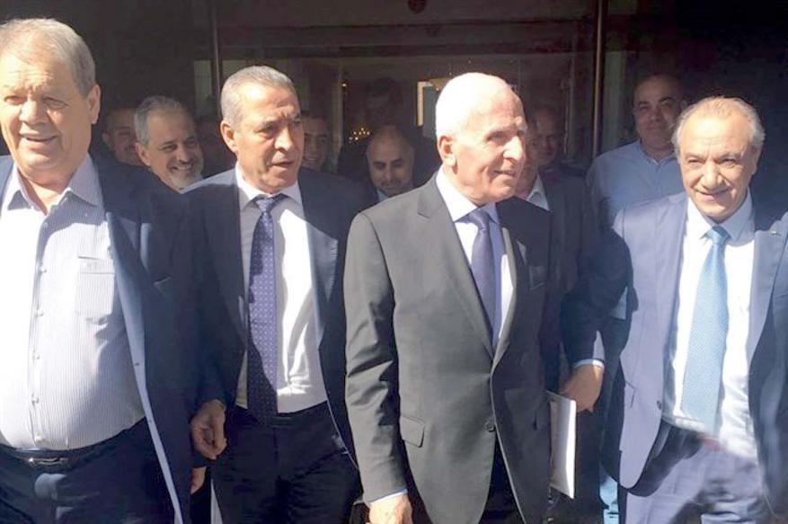 وفد من المخابرات المصرية يلتقي أعضاء مركزية فتح ورئيس مخابرات السلطة