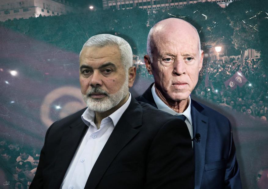 هنية يهاتف قيس سعيد ويهنئه بفوزه في الانتخابات الرئاسية التونسية