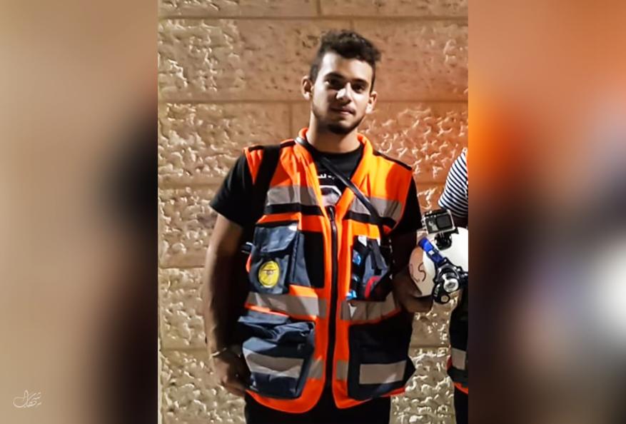 استشهاد مسعف متأثراً بجروح أصيب بها خلال مواجهات في مخيم الدهيشة