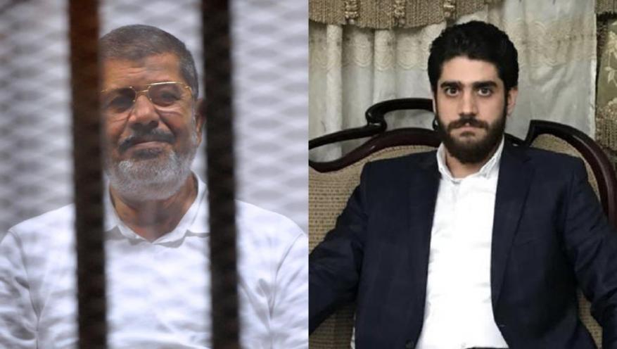 نجل مرسي يكشف تفاصيل اعتقال شقيقه