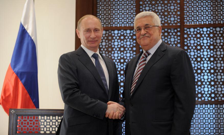 عباس يصل روسيا ويلتقي بوتين