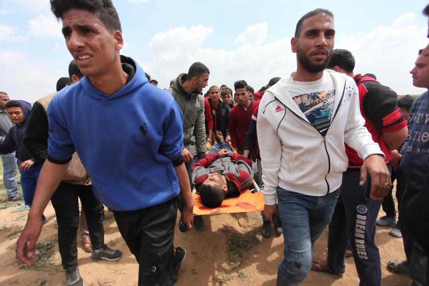 Palestine: MSF teams in Gaza observe unusually severe and devastating gunshot injuries