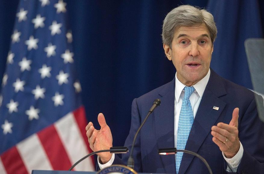 كيري: المستوطنات الإسرائيلية انتهاك للقانون الدولي