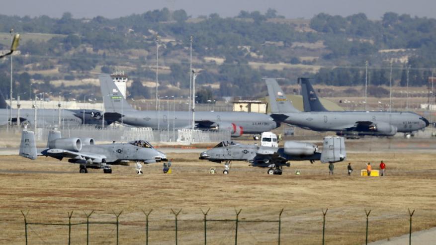 البنتاغون ينفي وقف أنشطته العسكرية في قاعدة إنجيرليك التركية