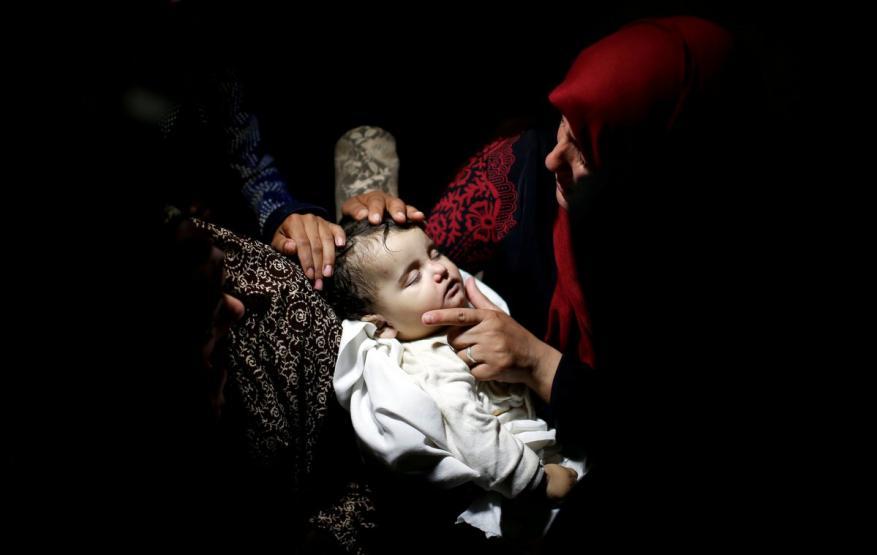 يونيسيف: أكثر من ألف طفل فلسطيني أصيبوا بمسيرات العودة