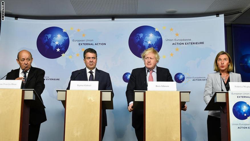 أوروبا تطالب ترامب باحترام الاتفاق النووي الإيراني