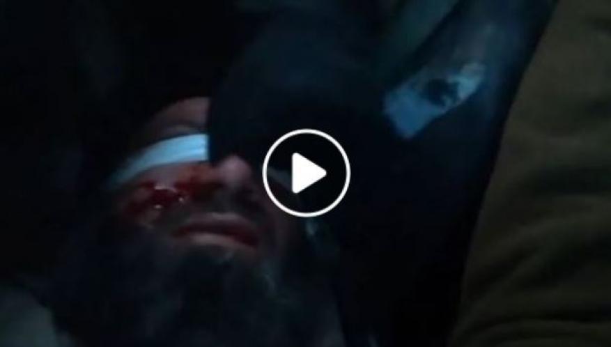 فيديو يكشف اعتداء وحشي على أسير فلسطيني