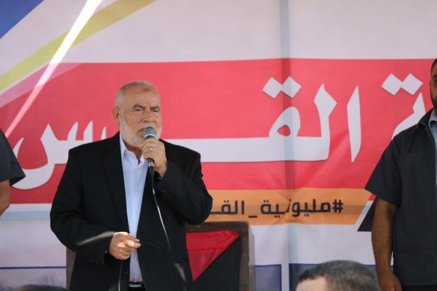 بحر يدعو برلمانيين العالم العربي والدولي لزيارة غزة والمشاركة في مسيرات العودة