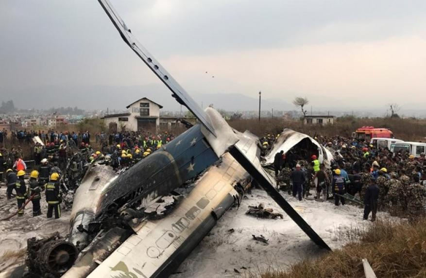قتلى في تحطم طائرة بنغالية في النيبال