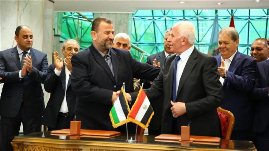 أبو الهول لشهاب: مصر تتابع عن كثب تطبيق اتفاق المصالحة وحماس تؤدي ما عليها
