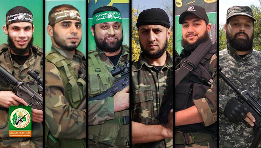 """""""تسديد فاتورة الحساب قادم"""".. كتائب القسام: الشهداء الستة نجحوا في تفكيك أكبر منظومة تجسس خطيرة للعدو"""