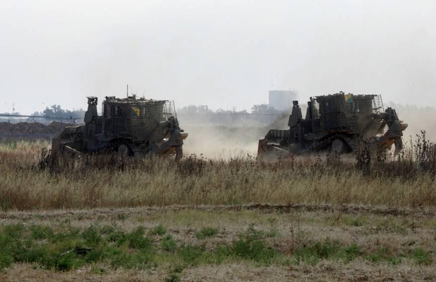 توغل محدود لجرافات الاحتلال شمال غزة