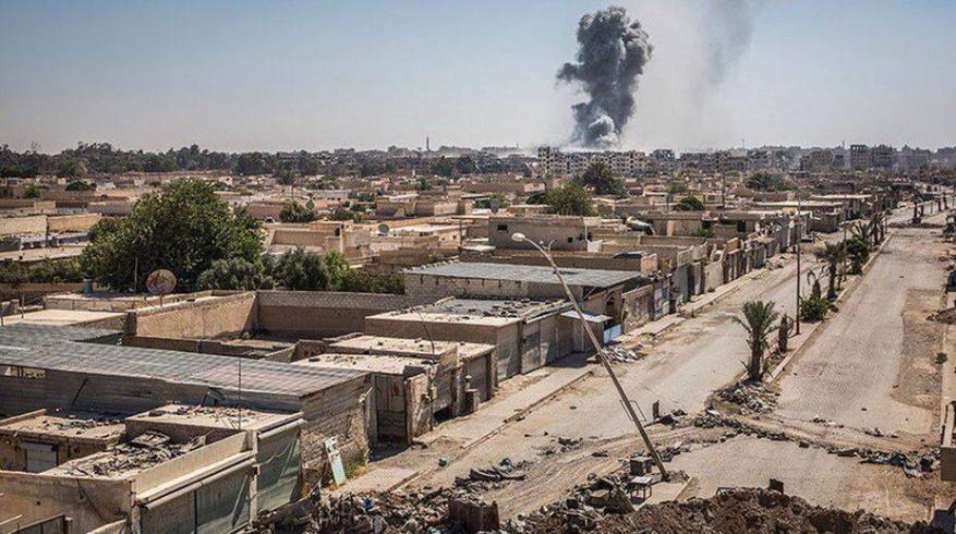 مقتل أكثر من 900مدني في الرقة بهجمات التحالف الدولي خلال شهرين