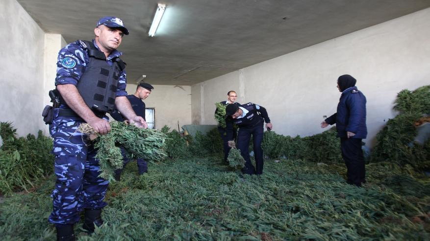 ضبط مخدرات بقيمة 70 مليون شيكل في الضفة
