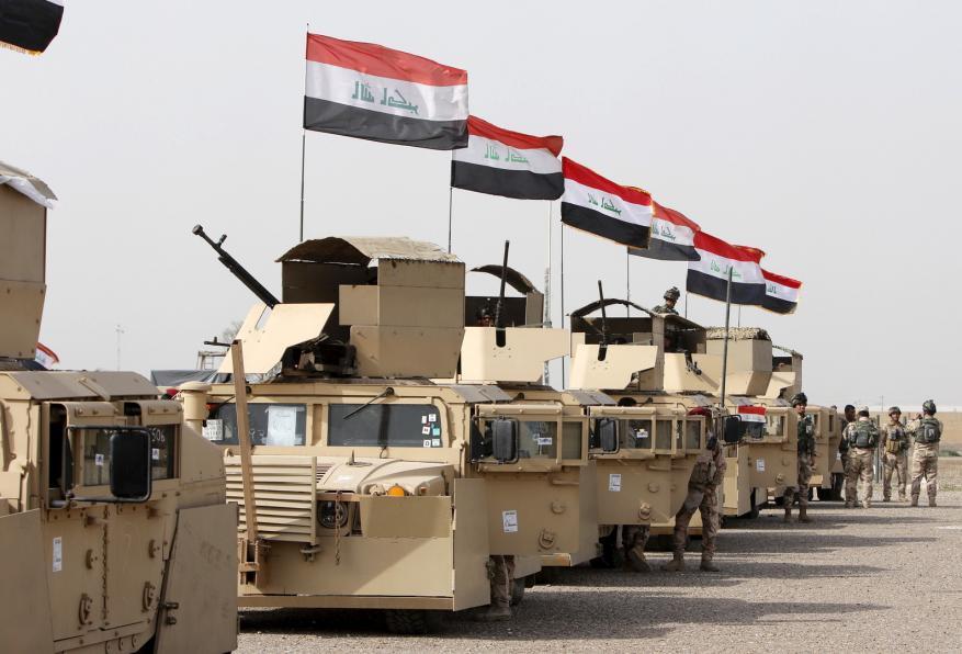 القوات العراقية تستعد للهجوم على تلعفر