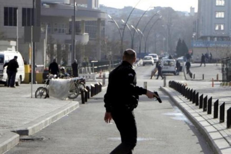 مقتل مهاجم واصابة شرطي في جنوب تركيا