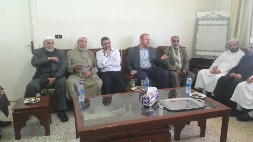 الجماعة الإسلامية في البقاع اللبناني تستقبل الناطق بإسم حماس