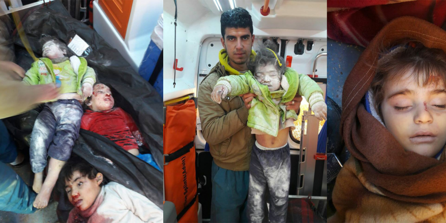 8 شهداء معظمهم من الأطفال بقصف النظام على ريف حلب