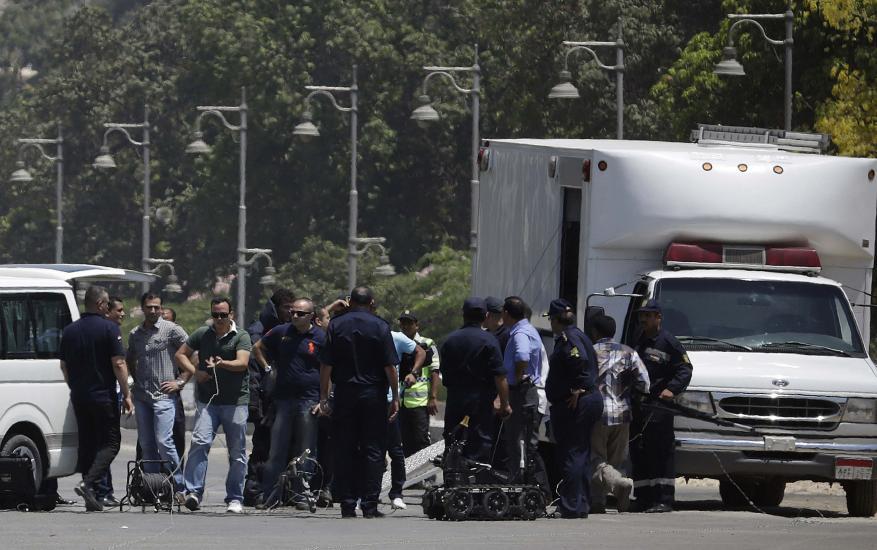 """""""حركة سواعد مصر"""" تعلن مسؤوليتها عن انفجار القاهرة"""