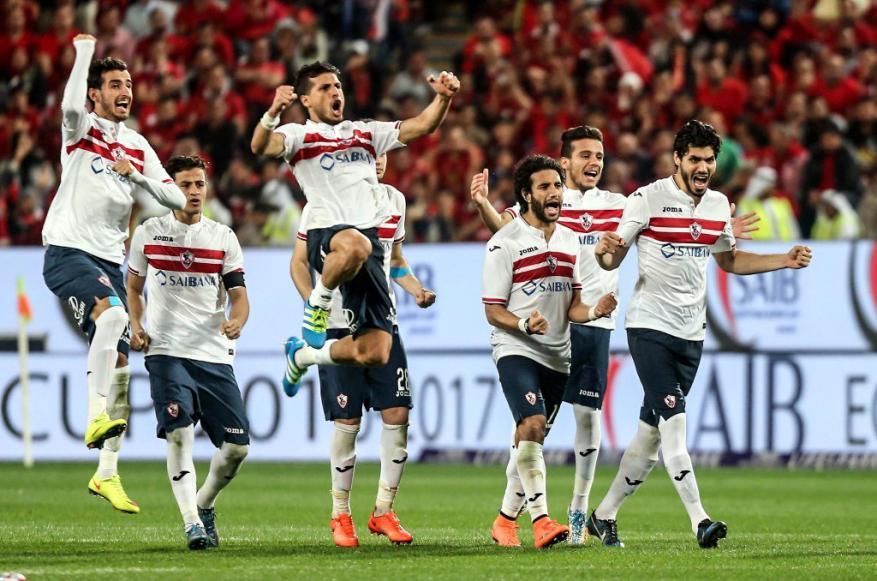 الزمالك يمر من عقبة سموحة في الدوري المصري
