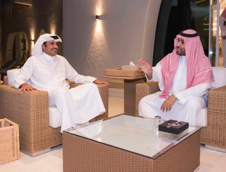 لماذا فشل اتصال أمير قطر بولي العهد السعودي بواسطة أمريكية؟