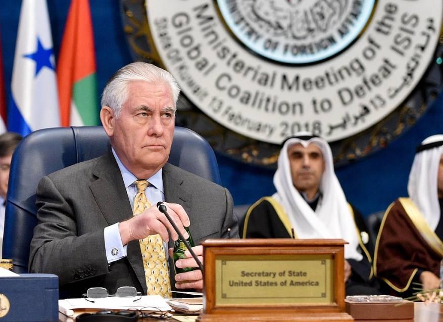تيلرسون: استعادة الوحدة الخليجية من مصلحة كل الأطراف في المنطقة