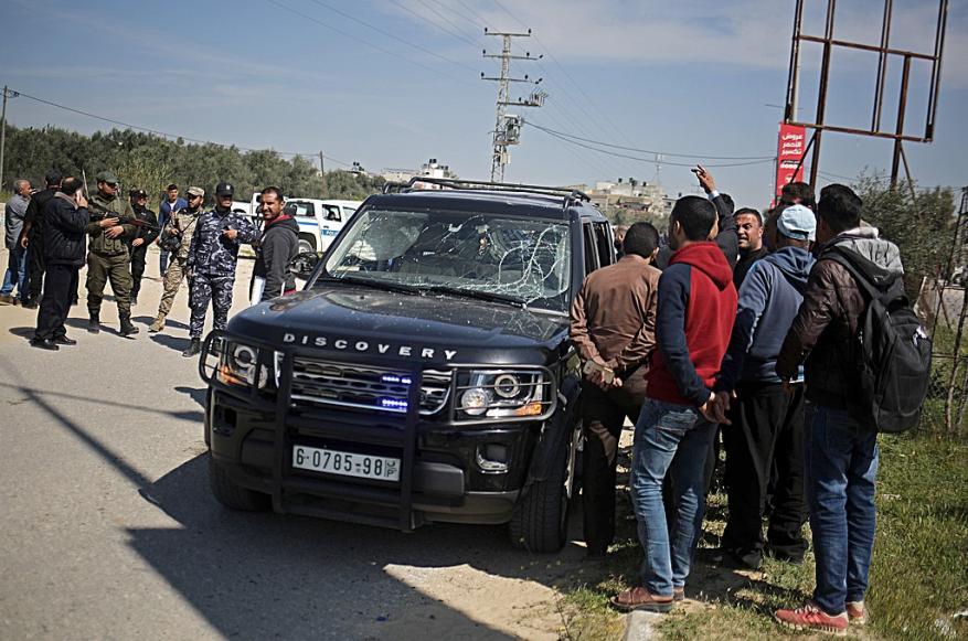 الوفد الأمني المصري يدين محاولة استهداف الحمدالله ويؤكد بقاءه في غزة