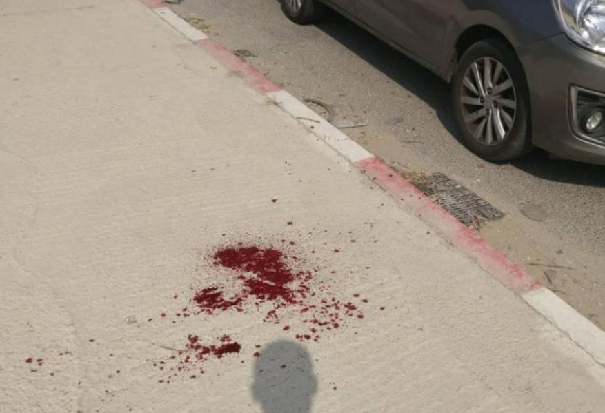 اصابة جندي ومستوطنة في عملية طعن جنوبي نابلس