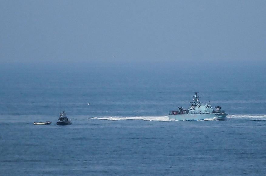 استهداف صيادي شمال قطاع غزة