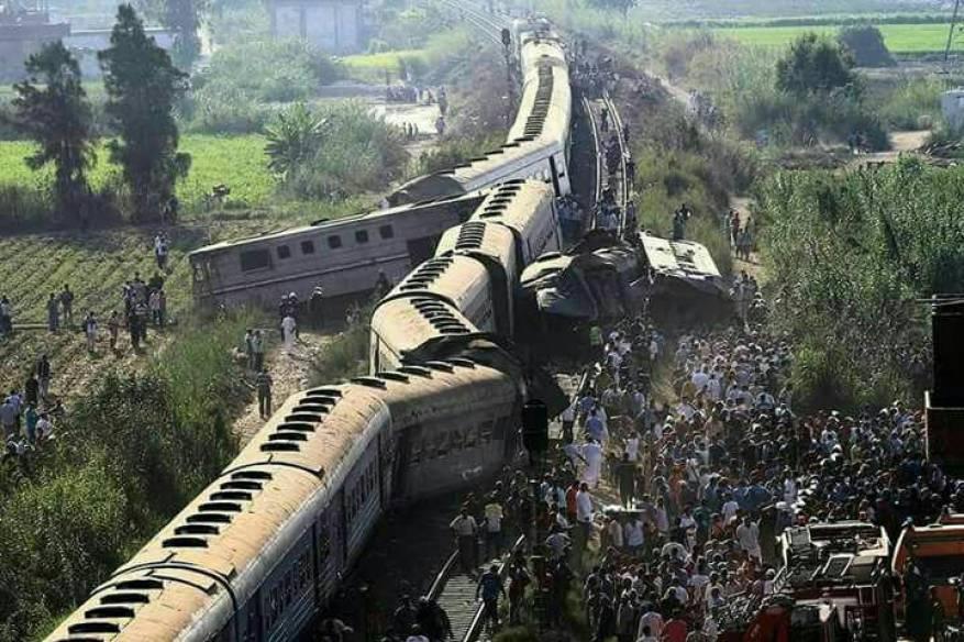 سجن سائقي قطاري حادث الإسكندرية المروع ومساعديهما