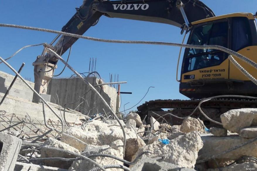 Number of Palestinians Israel forced to demolish homes triples
