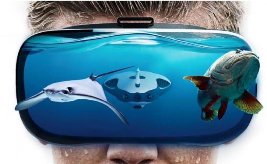 """""""Power Ray"""" روبوت مائي يساعد محبي الصيد"""