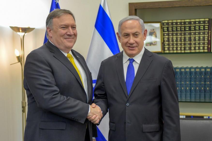 """وزير الخارجية الأمريكي: """"إسرائيل"""" مثال يحتذى للشرق الأوسط برمّته"""