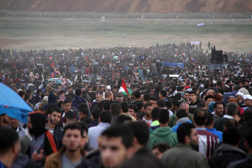 صحيفة: استخدام الاحتلال للقوة المفرطة ضد مسيرات العودة قصور في الرؤية