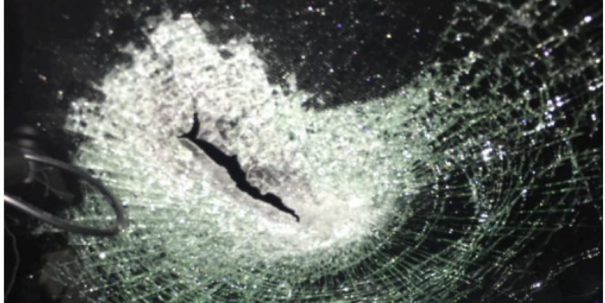 إصابة مستوطن بعد رشق مركبته بالحجارة قرب رام الله