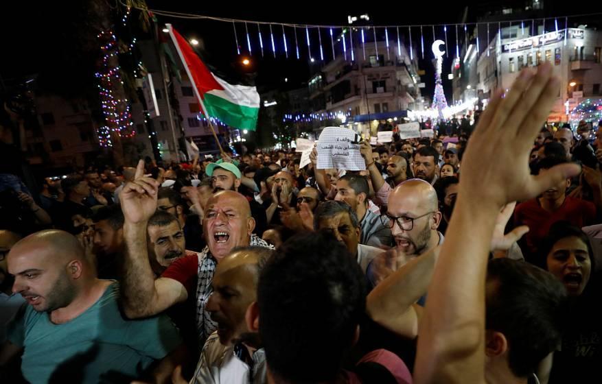 حماس: قرار منع التظاهرات بالضفة الغربية خرق للقانون وقمع للحريات