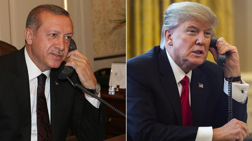 """أردوغان وترامب متفقان على ضرورة تحميل """"الأسد"""" مسؤولية أفعاله"""