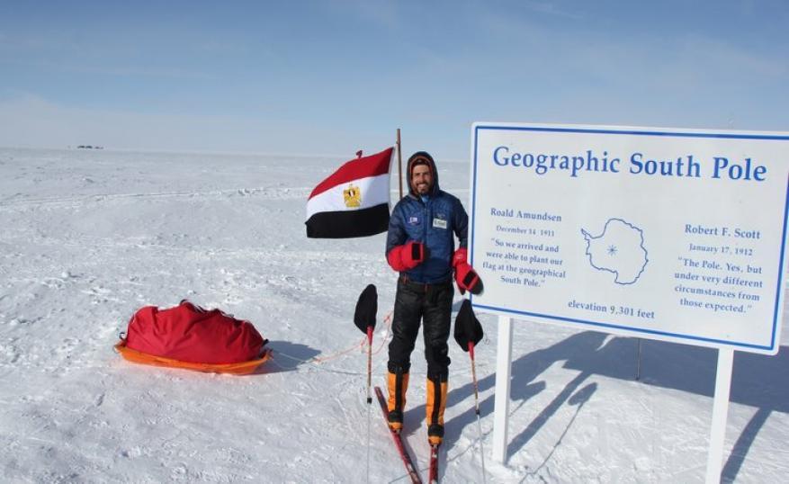 مغامر مصري: للمرة الثانية أتسلق جبلا لم يصعده أحد في التاريخ