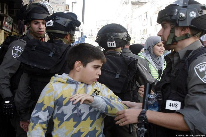 Israel displaces, locks up and kills Palestinian children