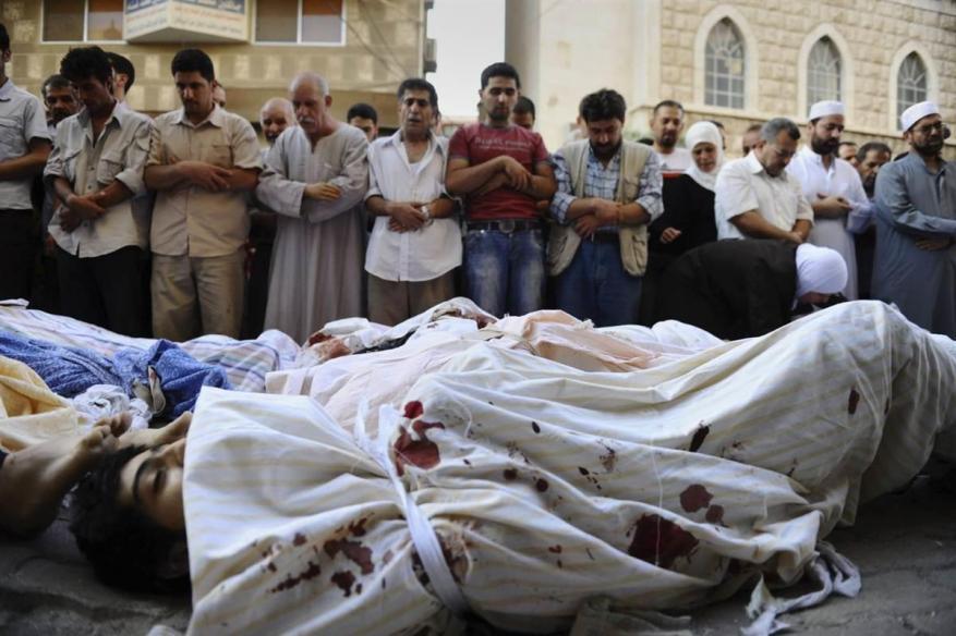 مقتل 32 شخصا تحت التعذيب بسوريا الشهر الماضي